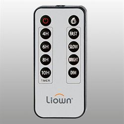 Liown Flameless Candle Remote Control Gray