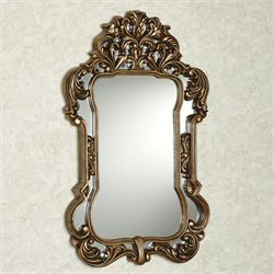 Domenica Wall Mirror Burnished Gold