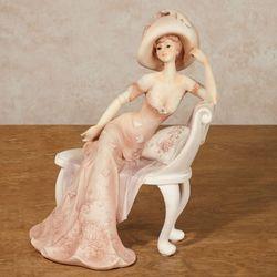 Beautte Femme Lady Figurine Pale Blush
