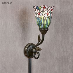 Spring Medley Wall Sconce Lamp Bronze
