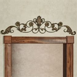 Violetta Wall Topper Old World Bronze