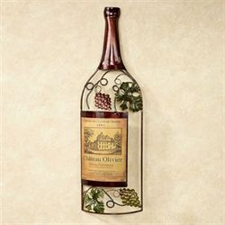 Vineyards Finest Wine Wall Art Brown