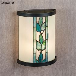 Paulina LED Wall Sconce Teal