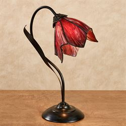 Delilah Table Lamp Plum
