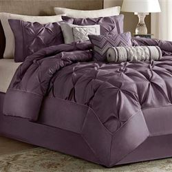 Piedmont Comforter Bed Set Plum