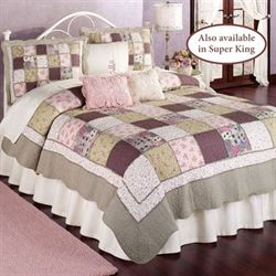 Sugarplum Patchwork Quilt Multi Pastel