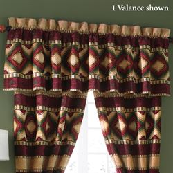 Veracruz Tailored Valance Camel 88 x 21