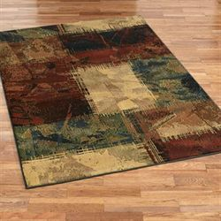 Baritone Hunter Rectangle Rug Lava