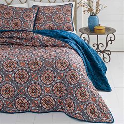 Sitka Suzani Quilt Set Multi Bright