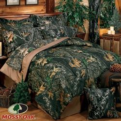 Mossy Oak New Break Up Comforter Set Black