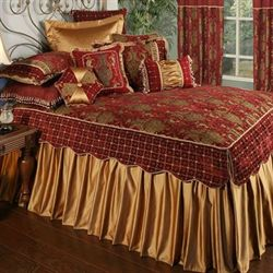 Montecito Grande Bedspread Merlot