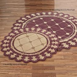 Royal Empire Round Rug