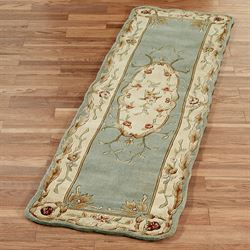 Rose Aubusson Sculpted Rug Runner