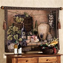 Wine Tasting Wall Tapestry