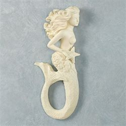 Beauty from the Sea Mermaid Wall Accent Light Cream
