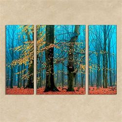 Supremes Triptych Indoor Outdoor Canvases Multi Jewel Set of Three