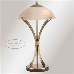 Arcade Table Lamp Antique Brass