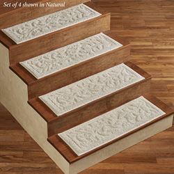 Foliage Stair Treads Set of Four