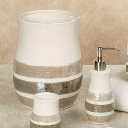 Mesmerize Lotion Soap Dispenser Light Cream