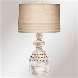 Piedra Table Lamp Multi Earth