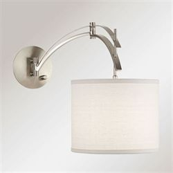 Vencilli Arc Wall Lamp Nickel