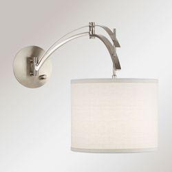 Vencilli Arc Wall Lamp Nickel