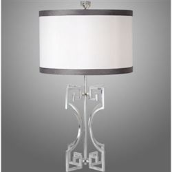 Ioannina Silver Table Lamp