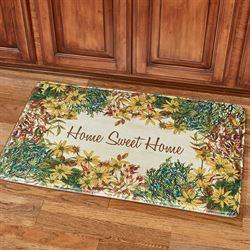Home Sweet Home Comfort Mat Multi Warm 36 x 23