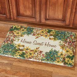 Home Sweet Home Comfort Mat Multi Warm 36 x 23