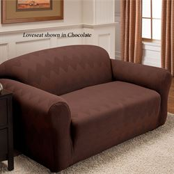 Optic Stretch Furniture Cover Recliner