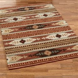Maverick Rectangle Rug Rust