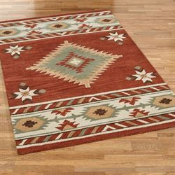 Cassidy Rectangle Rug Ember Glow