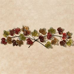 Falling Leaves Wall Topper Multi Earth