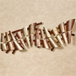 Sensations Wall Sculpture Multi Metallic