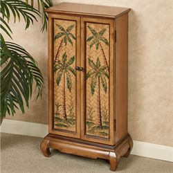 Taureek Tropical Storage Cabinet Autumn Cherry