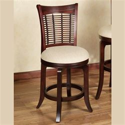 Candrie Counter Stool Rich Mahogany