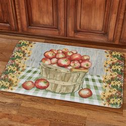 Apple Basket Cushioned Mat Multi Cool 36 x 23