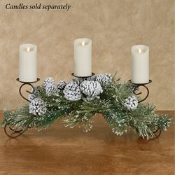 Snowy Pine Centerpiece Multi Earth
