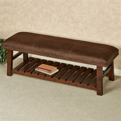 Carson Mission Bench Brown