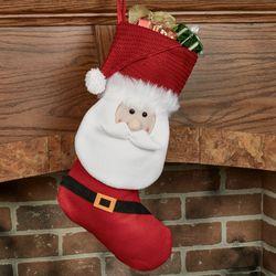 Santa Stocking Red