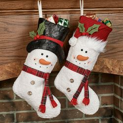 Frosty Friends Stockings Multi Warm 2 Piece Set