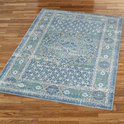 Paola Rectangle Rug Light Blue