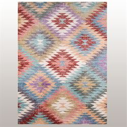 Parche Rectangle Rug Multi Jewel