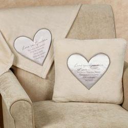 Love You Grandma Blanket Light Cream