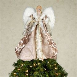 Glorious Angel Tree Topper Gold
