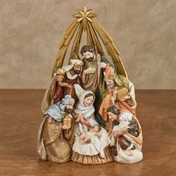 Nativity Star Figurine Multi Warm