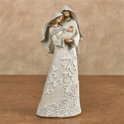 Divine Holy Family Figurine Ivory