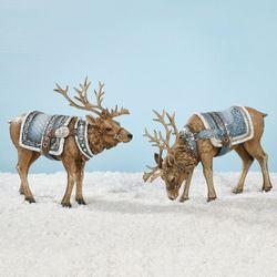 Majestic Deer Figurines Multi Cool 2 Piece Set