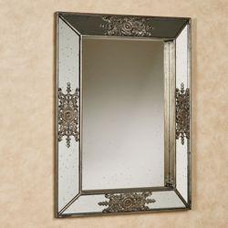 Elizabeth Ann Wall Mirror Aged Gold