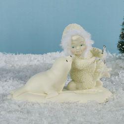 Go Fish Snowbaby Figurine Ivory